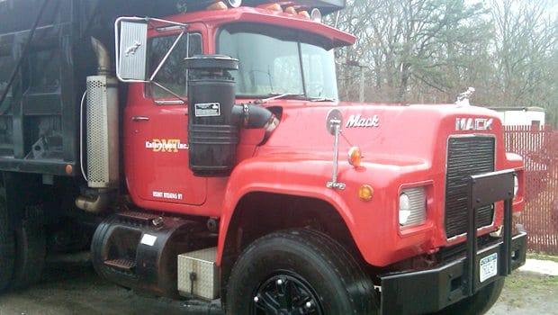 Red DMT Enterprises truck