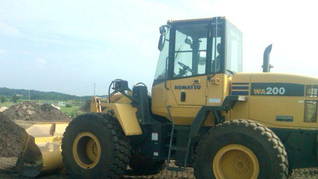 Excavation contractor truck